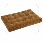 "Bowsers-Luxury ""Pecan Filigree"" -  Dog Crate Mattress"