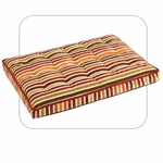 "Bowsers-Luxury  ""Salsa Stripe"" -  Dog Crate Mattress"