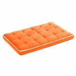 "Bowsers-Luxury  ""Tangerine"" -  Dog Crate Mattress"