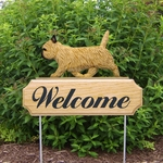 Cairn Terrier DIG Welcome Stake-Wheaten