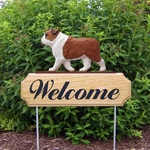 English Bulldog DIG Welcome Stake-Red