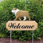English Bulldog DIG Welcome Stake-Tan