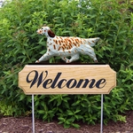 English Setter DIG Welcome Stake-Orange