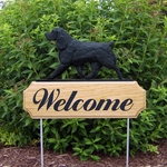 Field Spaniel DIG Welcome Stake-Black