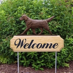 Flat Coated Retriever DIG Welcome Stake-Liver