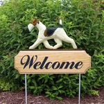 Fox Terrier (wire) DIG Welcome Stake-Standard