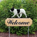 French Bulldog DIG Welcome Stake-Pied