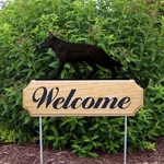 German Shepherd DIG Welcome Stake-Black
