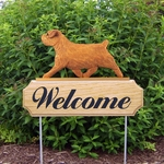 Norfolk Terrier DIG Welcome Stake-Red