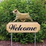 Norfolk Terrier DIG Welcome Stake-Wheaten
