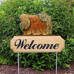 Pekingese DIG Welcome Stake-Red