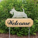 Scottish Terrier DIG Welcome Stake-Wheaten