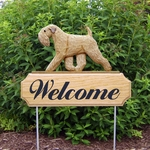 Soft Coated Wheaten DIG Welcome Stake-Standard