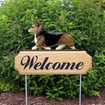 Welsh Corgi (pembroke) DIG Welcome Stake-Sable