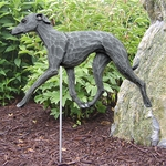 Italian Greyhound Garden Stake-Blue