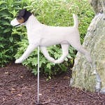 Jack Russell Terrier Garden Stake-Tri