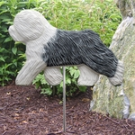 Old English Sheepdog Garden Stake-Standard