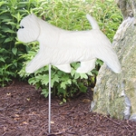 West Highland Terrier Garden Stake-Standard