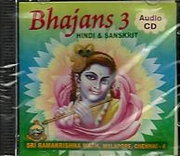 Bhajans - 3 Hindi and Sanskrit (CD)