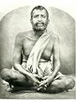 Ramakrishna Photo (B&W)(2 1/2x3 1/2)