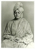 Vivekananda Photo (B&W)(5x7)