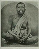 Metal Photo Of Sri Ramakrishna (2 3/4x2 1/4)