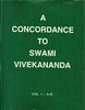 A Concordance To Swami Vivekananda (Three Volumes)