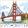 Golden Gate Birthday