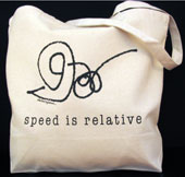 GO FAST!/Speed is Relative Tote