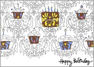 Damask Birthday