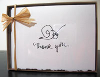 Classic Thank You - box of 8