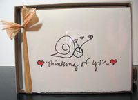 Thinking of You - box of 8 notes