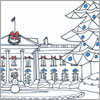 Wintry White House