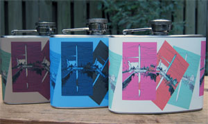 Washington Monument 4 oz. Flasks