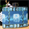 Lincoln Flask - Blue/Gray