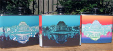 Jefferson Memorial Ombr&#233 Flasks