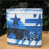 DC Justicia Omnibus 6 oz Flask - Cool Blues