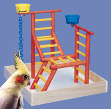 Acrobird Junior Toddler Playland 18""