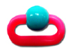 Candy's Creations Toys<BR>Handheld Chain and Bead 2""