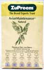 Zupreem AvianMaintenance Natural Large Parrot 20lb