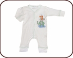 Organic Elephant Union Suit & Pajama