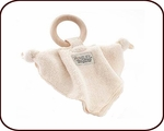 Organic Teething Ring and Blanket