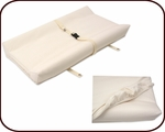 Organic 2 sided Contoured Changing Pad