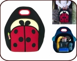 Insulated Ladybug Lunch Bag