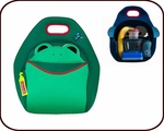 Insulated Frog Lunch Bag