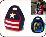 Insulated Stars & Stripes Lunch Bag