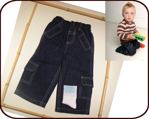 Bamboo Baby Boy Jeans