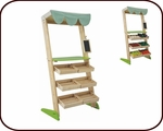 Organic Market Stall Playset (3 years+)