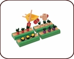 Dollhouse Accessories - Vegetable Garden