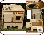 Willow Toys - Dakota's Wooden Play Kitchen